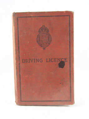 Image of driving licence
