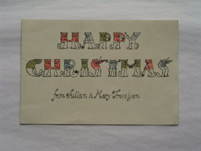 Image of christmas card