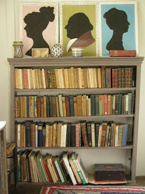 Image of bookcase  [Click here to close this image]