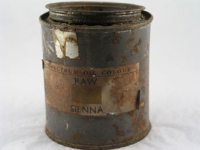 Image of paint tin