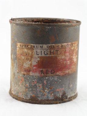 Image of paint tin
