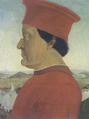 Image of painting Portrait of the Duke of Urbino