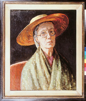 Image of painting Vanessa Bell, self portrait
