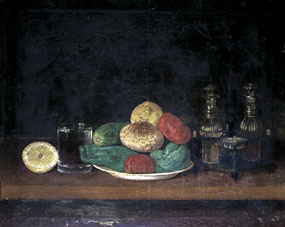 Image of painting Still life with vegetables