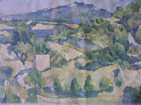 Image of print Landscape in Provence