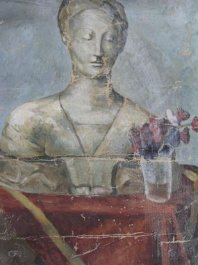 Image of painting Still life with bust