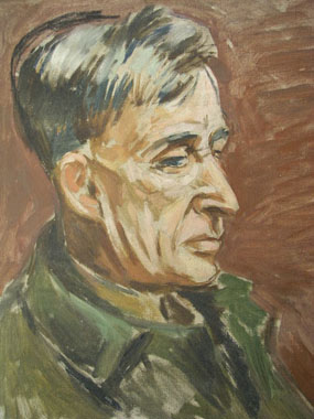 Image of painting Portrait of Leonard Woolf