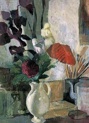 Image of painting Still life with poppies