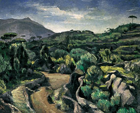 Image of painting Landscape in Provence
