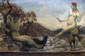 Image of painting Arcadia Scene