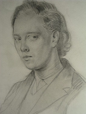 Image of drawing Portrait of Clive Bell