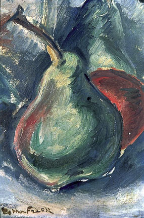 Image of painting Still life-Apple and Pear