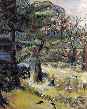 Image of painting The Garden