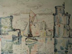 Image of print La Rochelle