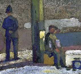 Image of painting The Policeman