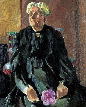 Image of painting Portrait of Lady Strachey