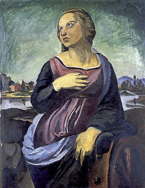 Image of painting St. Catherine