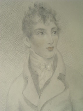 Image of drawing Portrait of Richard Plowden