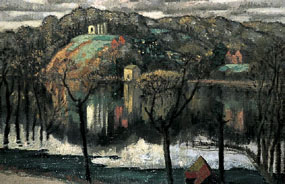 Image of painting Flooded Valley