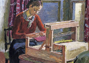 Image of painting The Weaver