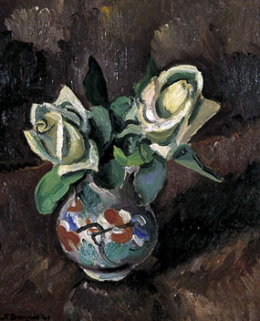 Image of painting Still life- White Roses