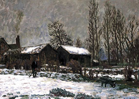 Image of painting Snow Scene