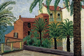 Image of painting Menton