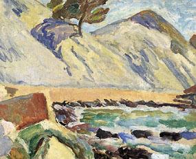 Image of painting Baie de la Reine