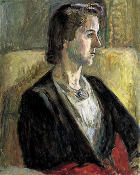 Image of painting Portrait of Olivier Bell