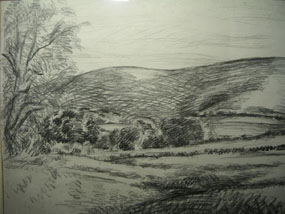 Image of drawing Firle Beacon