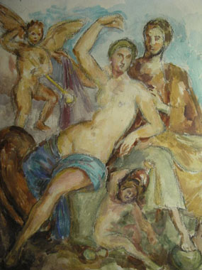 Image of watercolour Copy of a Roman Marriage