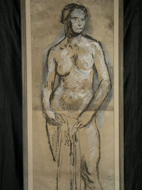 Image of painting Female nude
