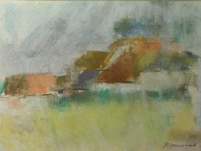 Image of drawing Barns, Charleston