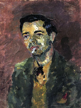 Image of painting Portrait of Victor Passmore