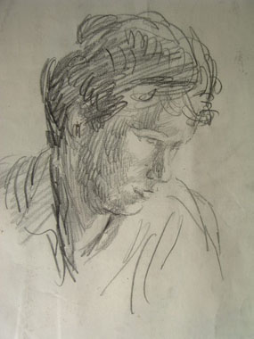 Image of drawing Julian Bell