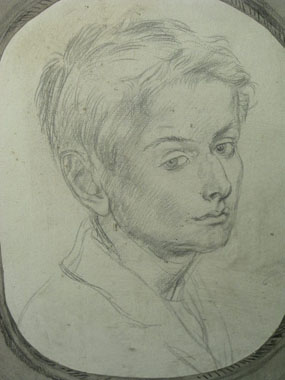 Image of drawing Portrait of Valarian Wellesley