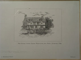 Image of print Josiah Wedgwood's Birthplace