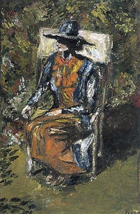 Image of painting Virginia Woolf