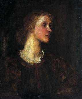 Image of painting Portrait of Julia Stephen