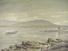 Image of watercolour Landscape