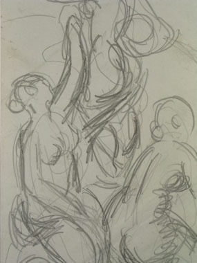 Image of drawing Life Study [Click here to close this image]