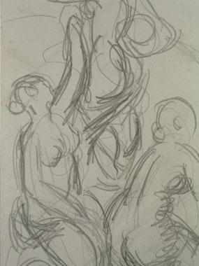 Image of drawing Life Study