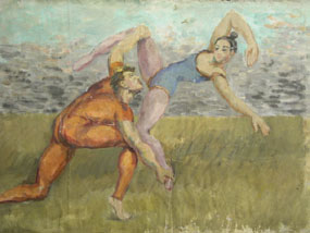 Image of painting Two Acrobats
