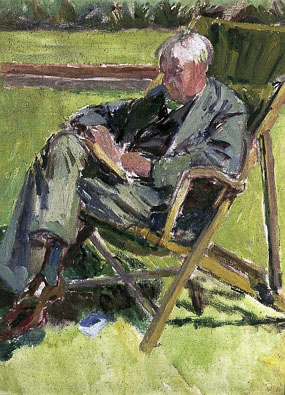 Image of portrait Portrait of Oliver Strachey