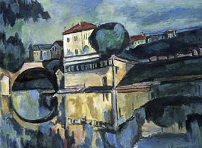 Image of painting Poissy - le Pont
