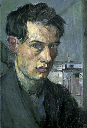 Image of painting Duncan Grant, Self portrait