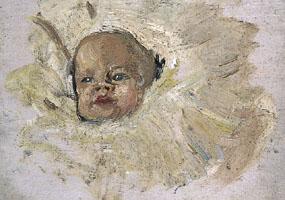 Image of painting Julian asleep