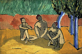 Image of painting Three Figures