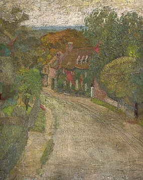 Image of painting Village Street