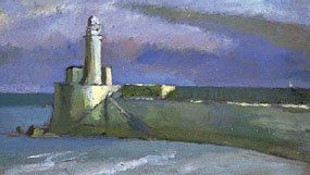Image of painting Lighthouse